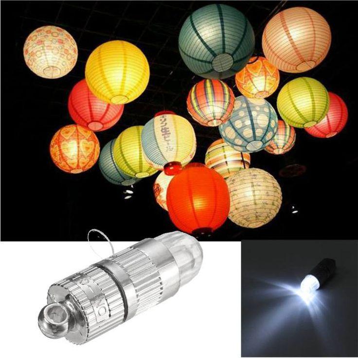 Waterproof Mini Balloons LED Light Lamp Bulb Battery Power High Bright Lantern Led Light For Wedding Party Christmas Decor