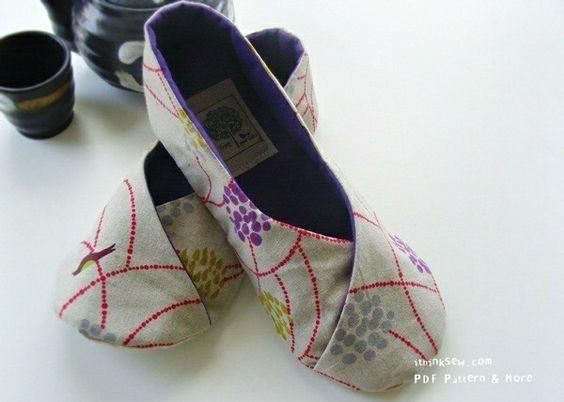 DIY slipper tutorial: