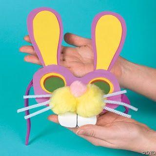 Okul Öncesi Etkinlik Dünyası :): Tavşan Maske
