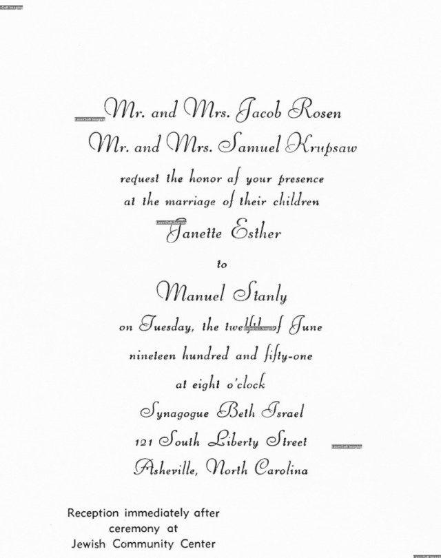 24 Best Picture Of Jewish Wedding Invitation Wording Wedding