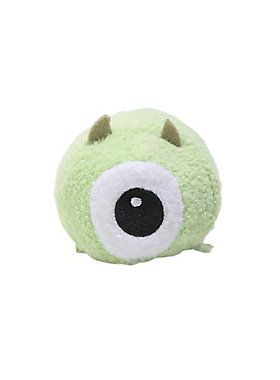 "Originally from Japan, Tsum Tsum stackable plush feature your favorite Disney characters. Collect them all to build a tower of cute and cuddly friends.<br>This mini Tsum Tsum is in the super cute, super soft shape of Mike Wazowski!<br><ul><li style=""list-style-position: inside !important; list-style-type: disc !important"">3 1/2"" long</li><li style=""list-style-position: inside !important; list-style-type: disc !important"">Polyester fiber; plastic pellets</li><li style=""list-style-position…"