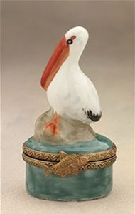 Limoges Baby Pelican Box The Cottage Shop