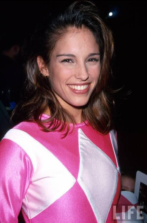 Amy Jo Johnson a.k.a Kimberly Ann Hart Ranger Pink  Every Guys First Crush