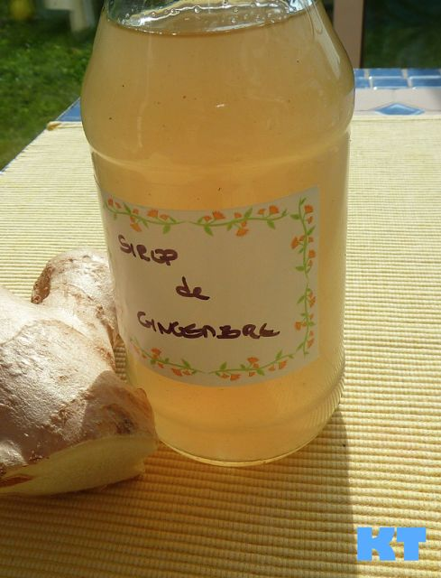 Le thermomix de Kitty: Sirop de gingembre