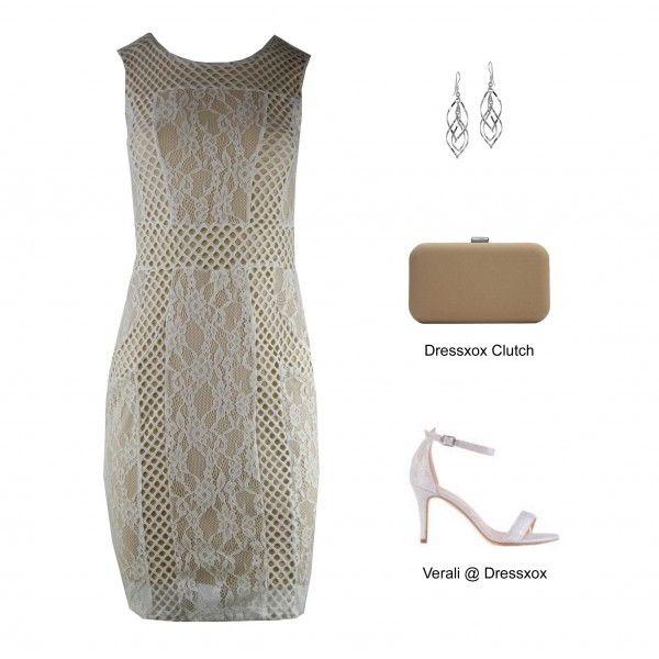 Yolanda Creative Stretch Lace Evening Dress