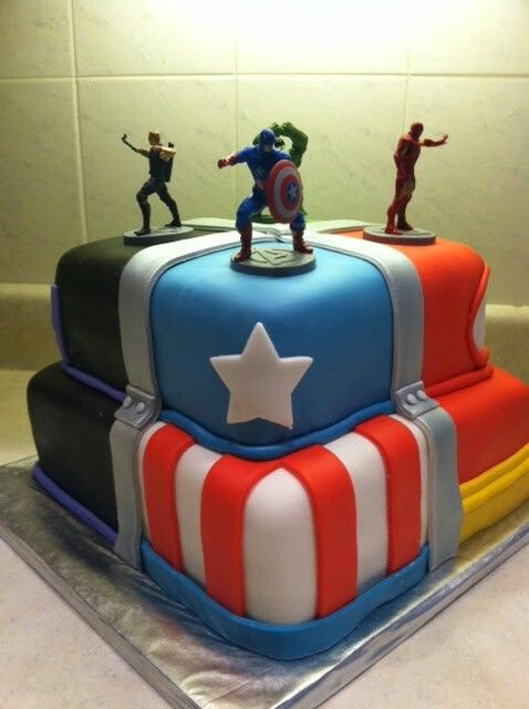 173 Best Avenger Birthday Party Ideas Images On Pinterest
