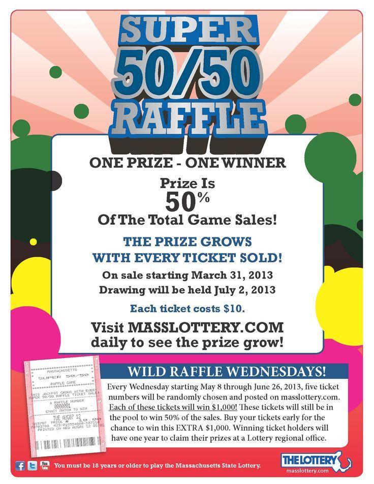 50 50 raffle flyer template