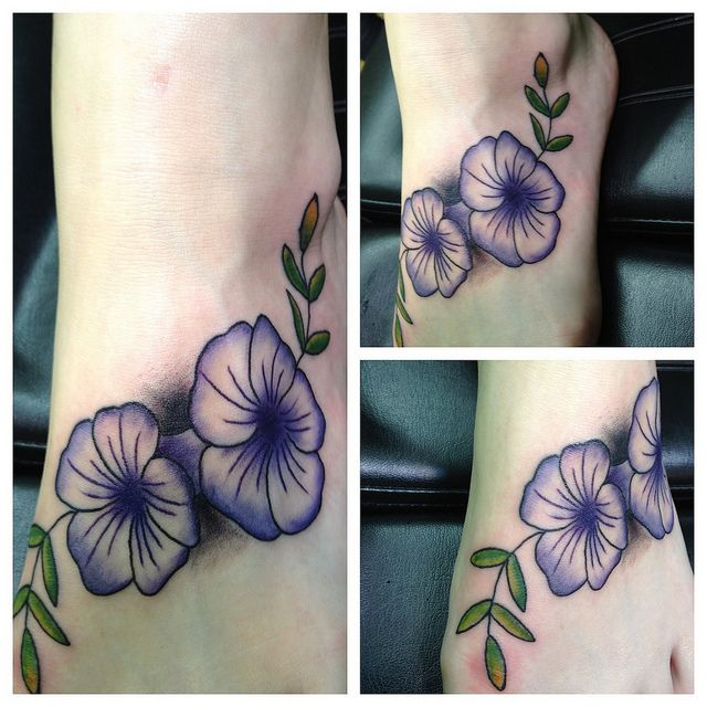 Petunia Tattoo--my pap used to call me petunia...I want to get one for him.
