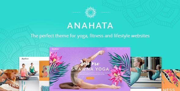awesome Anahata - A Yoga, Fitness and Way of life Theme (Wellness &amp Beauty)