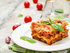 Zoutarme lasagne (zonder zakjes en pakjes)