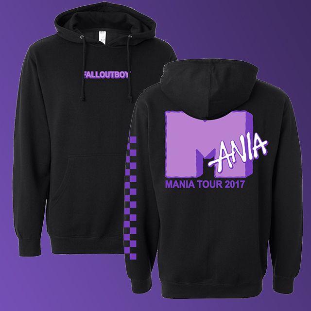 2dc5e3641 Shop Sidestep   Fall Out Boy Merch   United States   MANIA Tour Hoodie