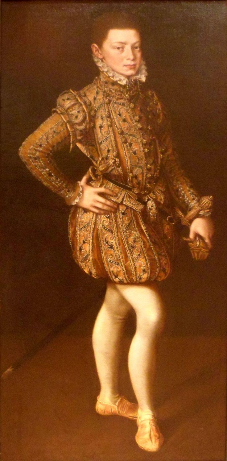 Alonso Sánchez Coello - Don Juan de Austria a los catorce años - c 1560.JPG