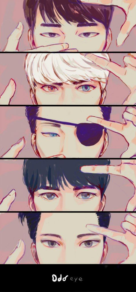 SHINee Odd Eye Fanart