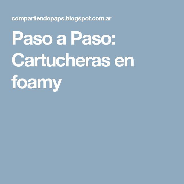 Paso a Paso: Cartucheras en foamy