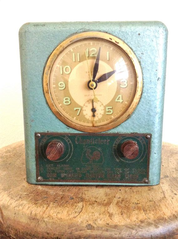 Very Rare Coin Operated Hotel Alarm Clock with Art by ...