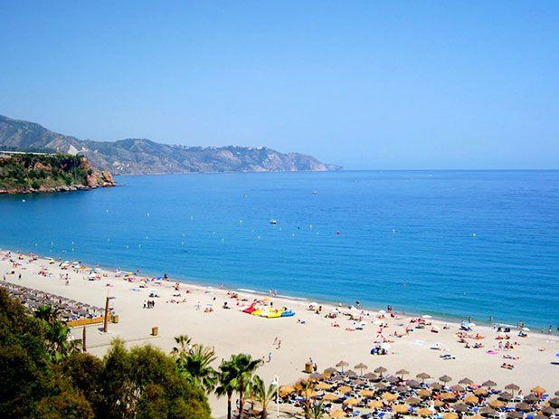 Burriana Beach - Nerja - Andalucia - Spain