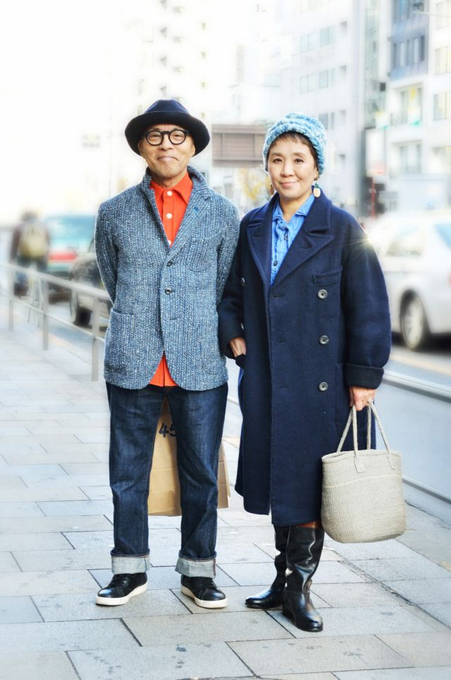 Takashi & Hiroko Takiuchi (age,65 & 66)
