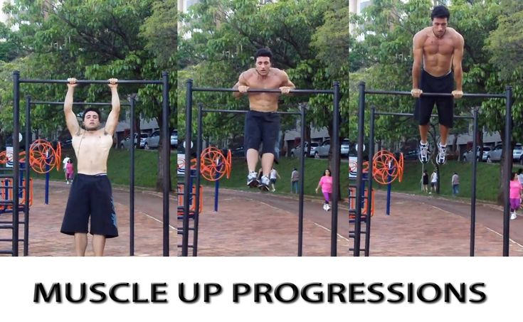Muscle Up Progressions - BH Bars Dicas