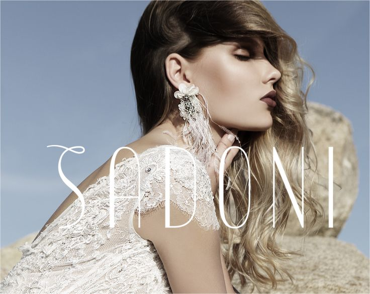 SADONI campaigne 2018 - Pure and bohemian weddingdresses for the modern bride entirely made in Europe - www.sadoni.no