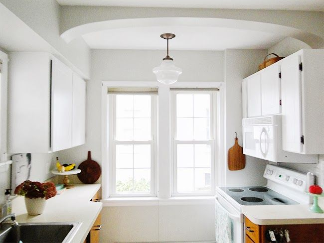 17 best images about lighting on pinterest kitchen updates pendant lights and white opal - Schoolhouse lights kitchen ...