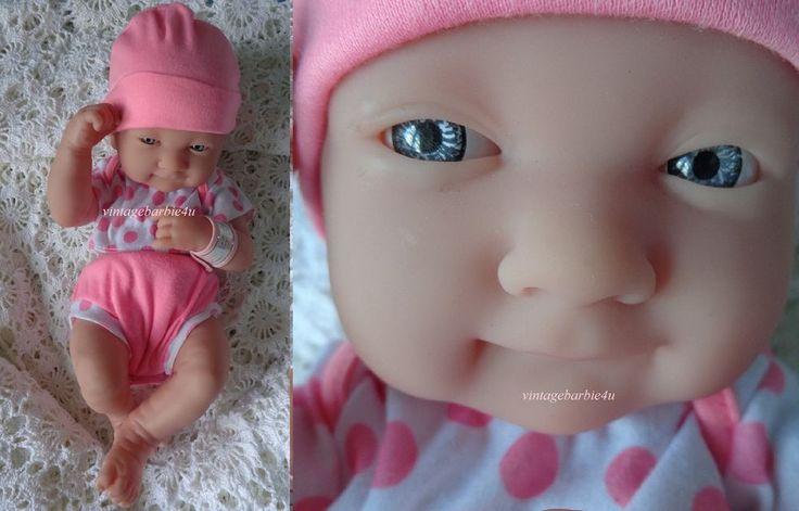 Berenguer La Newborn Baby Doll Girl Pink ID Wrist Band Spain NEW  #BerenguerLaNewborn #DollswithClothingAccessories