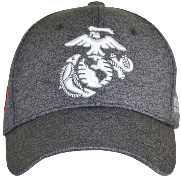 "Stay motivated while displaying your USMC pride or support in this Marines Callout Cover/Hat.  Order yours!  Features:  Made of 50%nylon, 45% polyester and 5% spandex. Medium profile. One size fits most. Belt and buckle rear size adjustment. Embroidery displays a 3D Eagle, Globe, and anchor on the cover/hat front. Cover/hat side displays the text ""MARINES. THE FEW. THE PROUD."". The cover/hat back displays a U.S. Flag tab.  #SgtGrit #Marines"