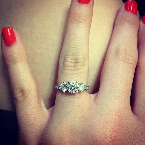 42 best Rings We Love images on Pinterest Engagement rings