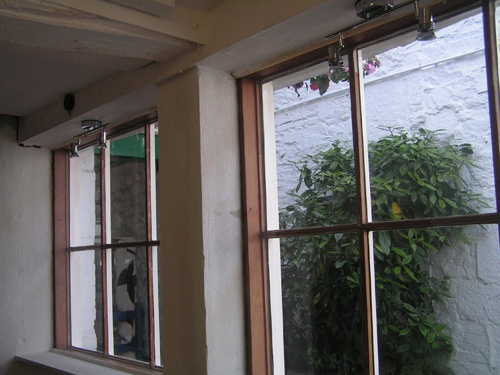 July 2010 I also have my own window to display goods in. It looks out onto an ally leading to a shopping precinct