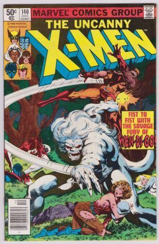 Marvel - Uncanny X-Men (1963) #140 - Alpha Flight and Wendigo Appearance VF/VF-
