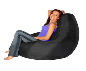 Waterproof adult bean bags for sale over at hugebeanbags.co.uk great for in the garden this summer.