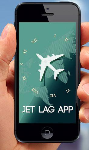 Jet Lag App: keep your biological clock in sync & prevent jet lag.