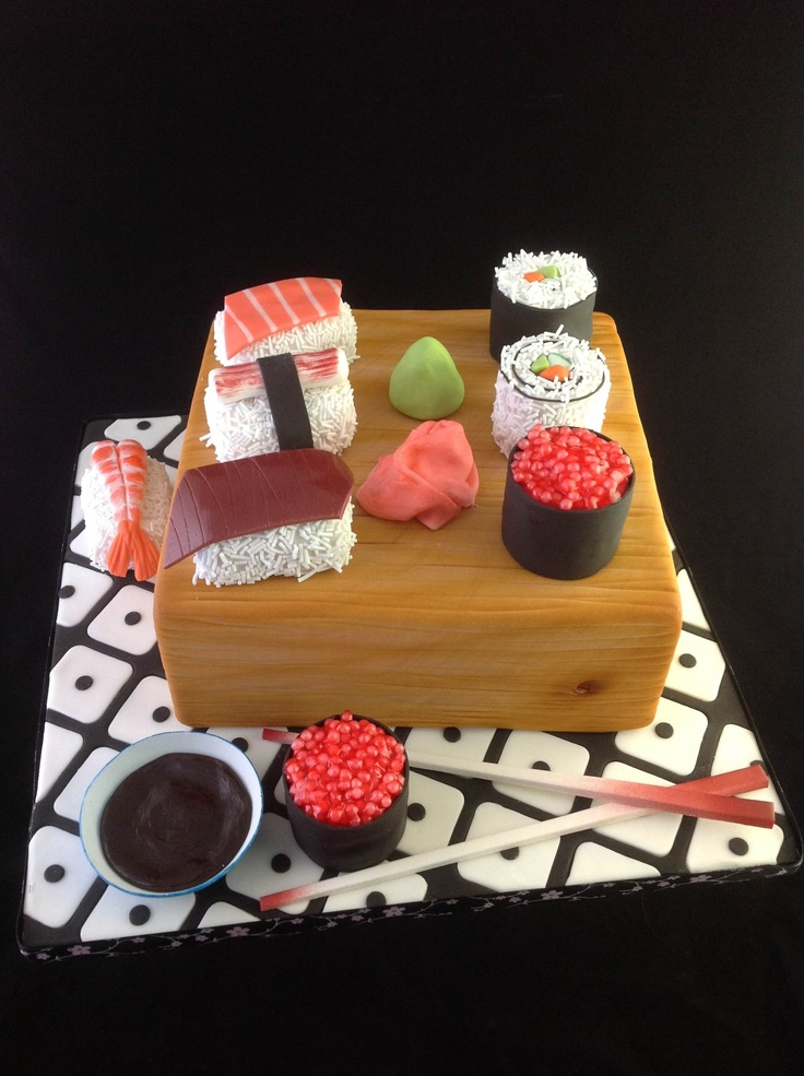 Cake Decorating Schools Uk : 1000+ images about cupcakes sushi & oriental on Pinterest ...