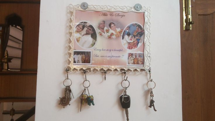 DIY Keychain Holder.... Every love story is beautiful but our's is our favorite