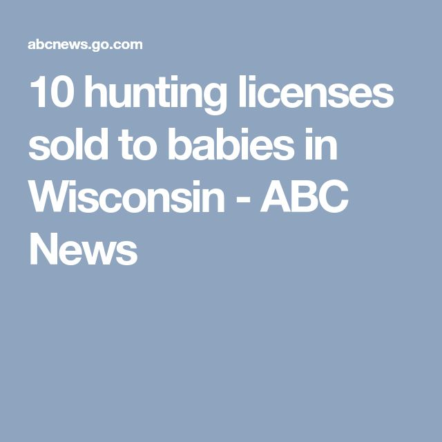Best 25 hunting license ideas on pinterest funny for How much is a fishing license in wisconsin