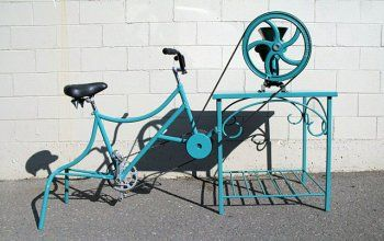 Pedal Powered Flour Mill