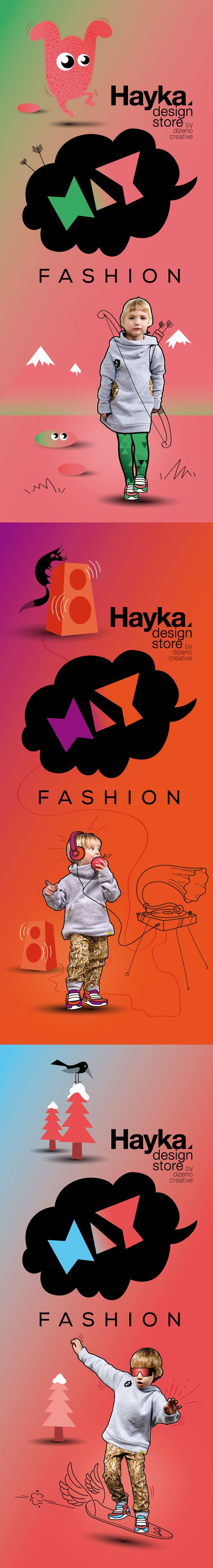HAY fashion lookbook / by Dizeno Creative / www.hayka.eu