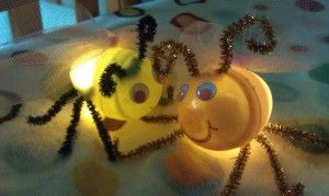 Fireflies or Lightning Bug Craft from Plastic Eggs  -  Pinned by @PediaStaff – Please Visit http://ht.ly/63sNt for all our pediatric therapy pins