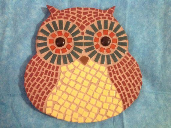 25+ Best Ideas About Owl Mosaic On Pinterest