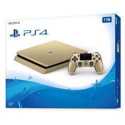 Sony PlayStation 4 Slim Gaming Console (Gold) 3002191 B&H Photo