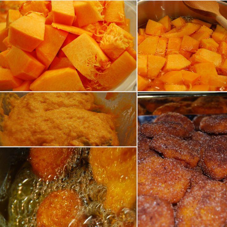 Sumário: Fritos de Abóbora ou Bolinhos de Jerimu Feitos para a minha mãe... Receita do livro referido nas lições anteriores. 2 kg de...