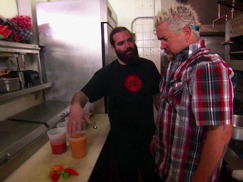 Guy vs. Death Juice : Food Network - FoodNetwork.com