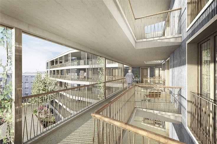 Alterssiedlung für betreutes Wohnen Spitzacker | raumfindung architekten