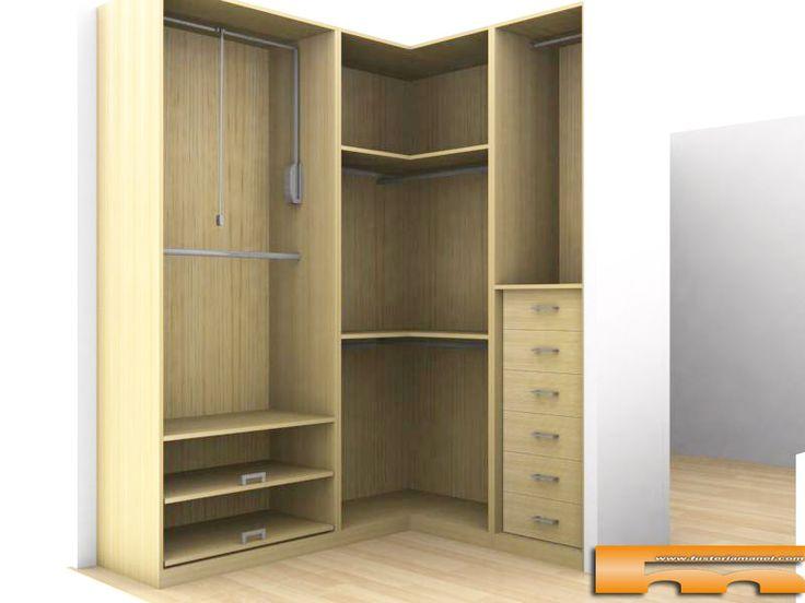 M s de 25 ideas incre bles sobre armario esquinero en for Crear habitacion 3d online