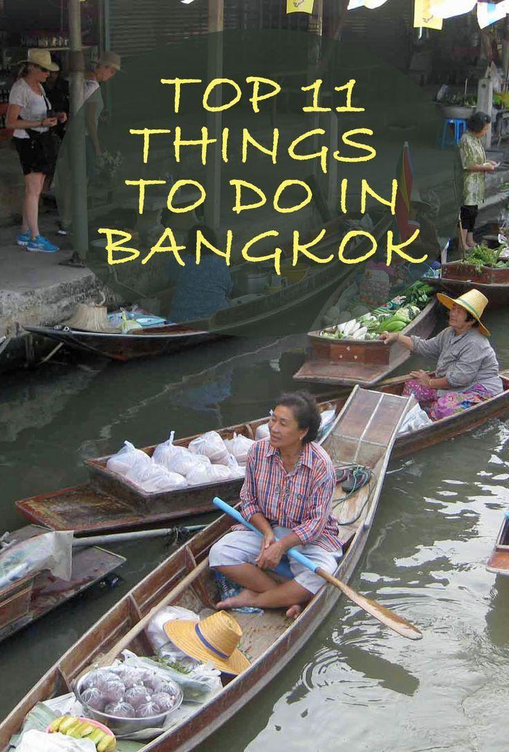 Top 11 Things to do in Bangkok Thailand   SavoredJourneys.com