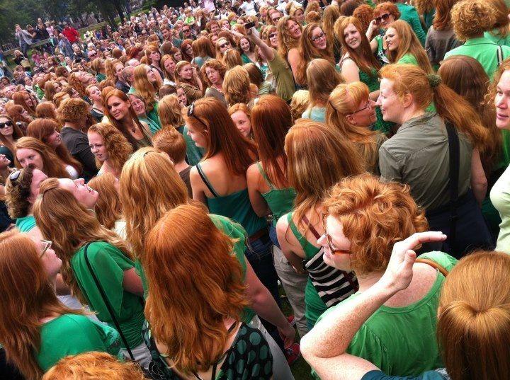 Redhead Day.