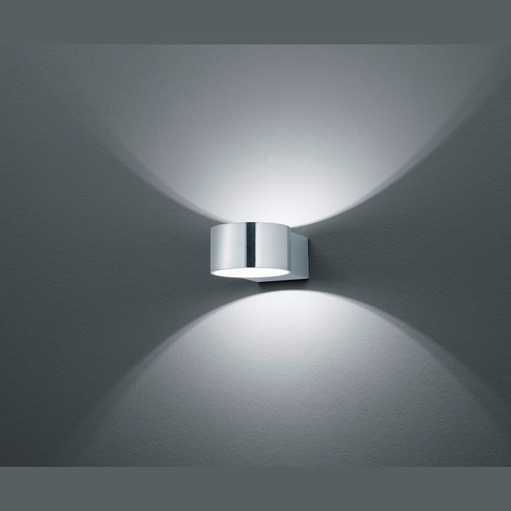LED-Wandleuchte in runder Form mit OSRAM-LED