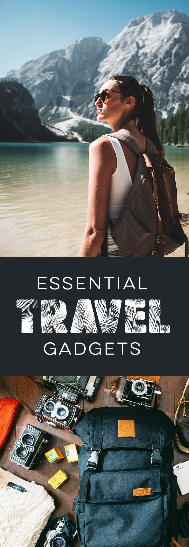 Travel gadgets, Travel gadgets 2018, Travel accessories, Travel Tech, Packing tips, Backpacking, GoPro, Travel Blog, Wanderlust