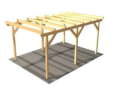 Carport; Holzcarport; Einzelcarport; KVH; Auto; PKW; Holz; Carport Holz