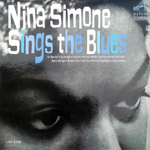 Nina Simone Sings the Blues, LP cover (1967)  Source: LP Cover Art