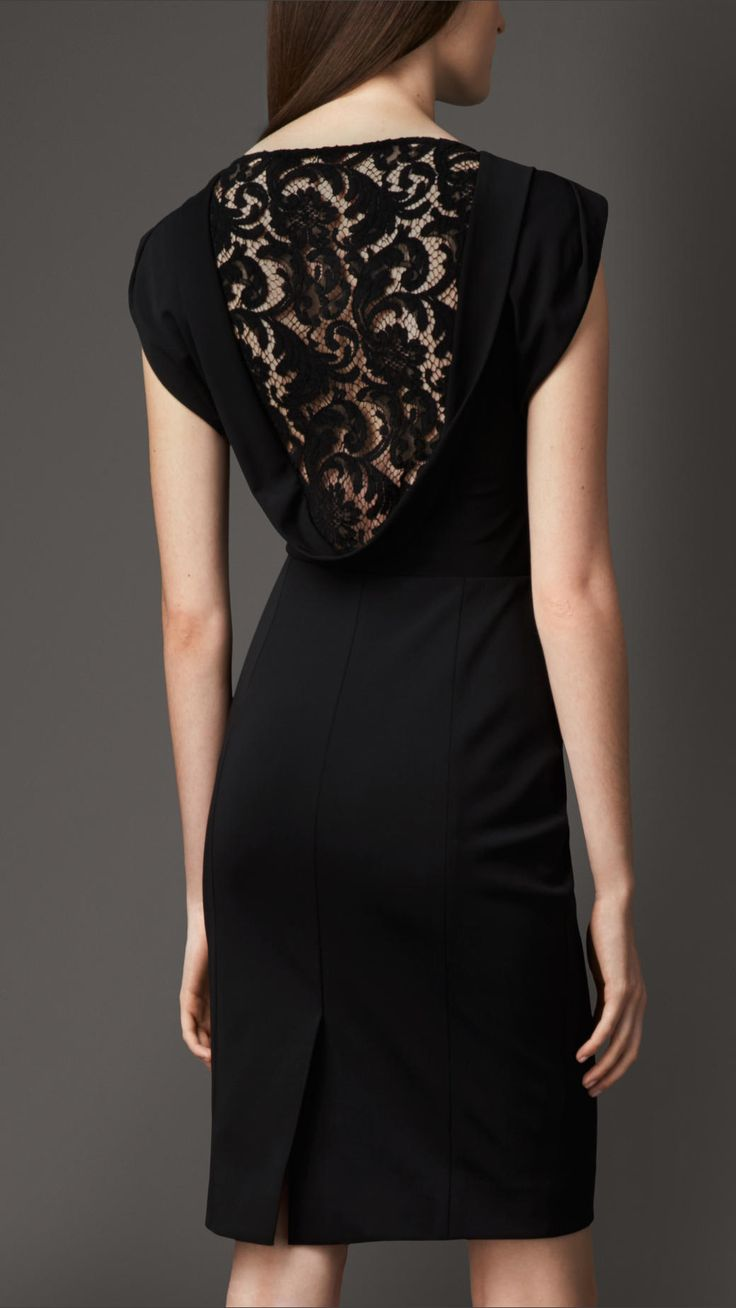 Lace Back Dress | Burberry